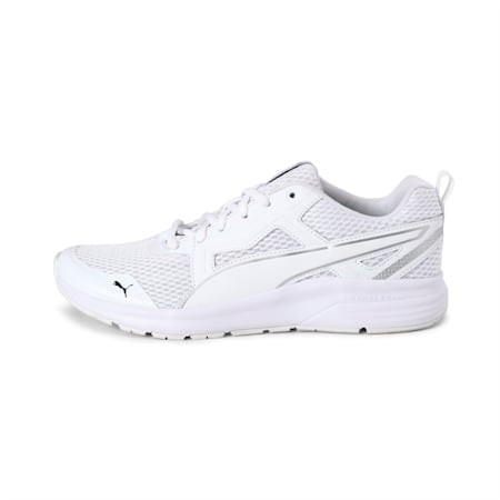 Pure Jogger PropelFoam IMEVA Running Shoes, White-Silver-Black-Yellow, small-IND