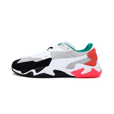 Storm Adrenaline Shoes, Puma Black-Gray Violet, small-IND