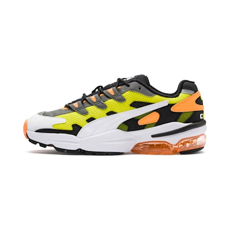CELL Alien OG Men's Sneakers, Yellow Alert-Fluo Orange, small