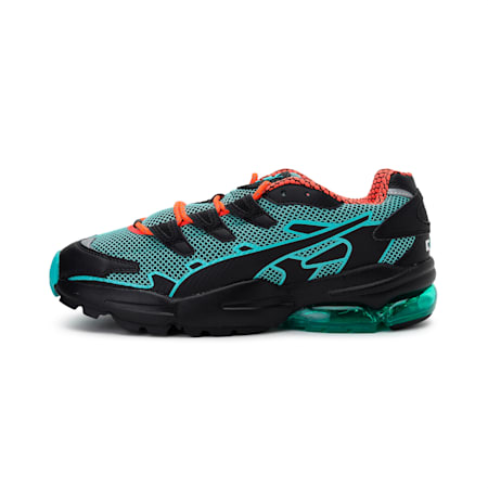 CELL Alien Kotto Trainers, Puma Black-Blue Turquoise, small-IND