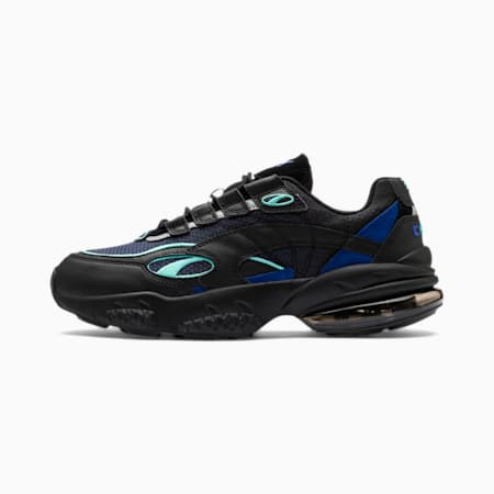 CELL Venom Alert Shoes, Puma Black-Galaxy Blue, small-IND