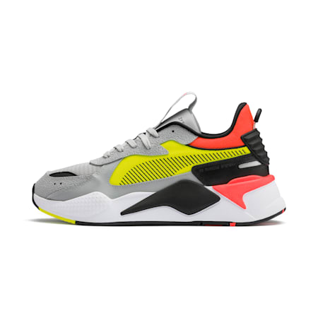 RS-X Hard Drive Men's Sneakers, High Rise-Yellow Alert, small