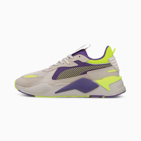 RS-X Hard Drive Trainers, Whisper White-Ultra Violet, small