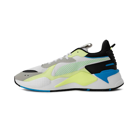 RS-X Hard Drive Shoes, White-Fizzyyellow-GrayViolet, small-IND