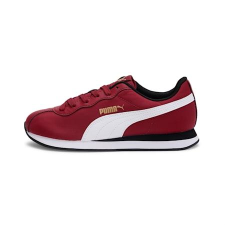 Turin II Youth Shoes, Rhubarb-Puma White, small-IND