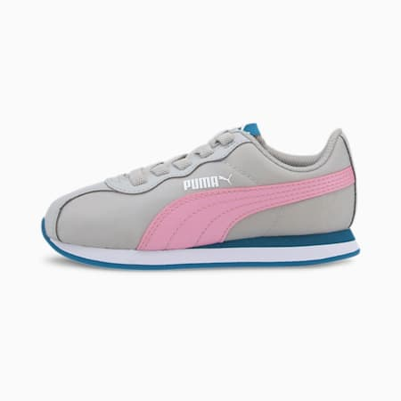 PUMA Turin II SoftFoam+ Kids' Shoes, Gray Violet-Pale Pink, small-IND