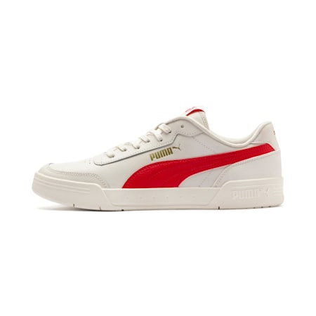 Caracal Sneaker, Whisper White-High Risk Red, small