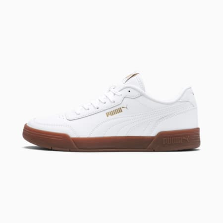 Caracal Trainers, Puma White-Puma Team Gold, small