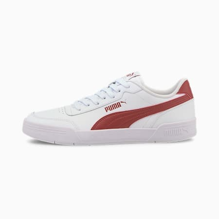 Caracal SoftFoam+ Sneakers, Puma White-Red Dahlia, small-IND