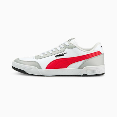 Caracal SoftFoam+ Sneakers, Puma White-High Risk Red-Gray Violet, small-IND