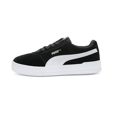 Carina Women's Sneakers, Puma Black- Black-Silver, small