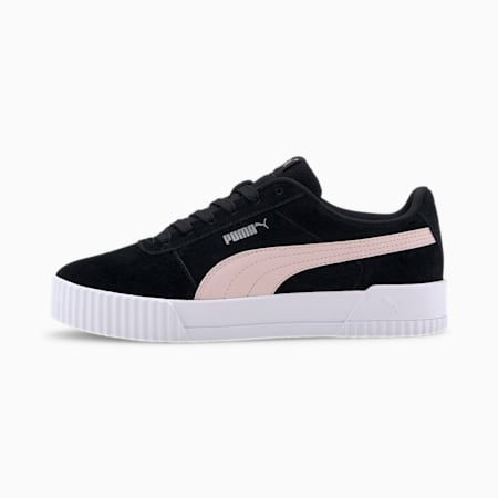 Carina Women's Sneakers, Puma Black-Rosewater, small