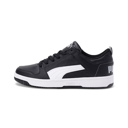 Rebound Lay Up Lo SL Shoes, Puma Black-White-High Rise, small-IND