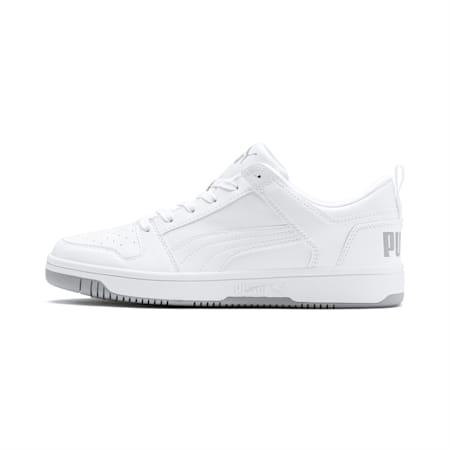 PUMA Rebound LayUp Lo Men's Sneakers, Puma White-High Rise, small