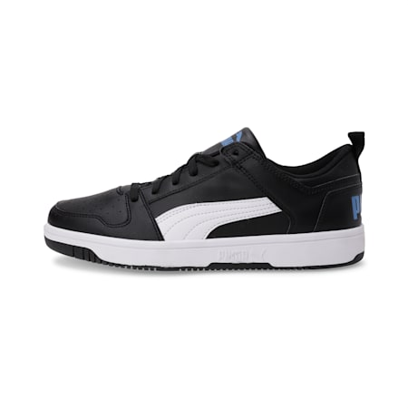 Rebound Lay Up Lo SL SoftFoam+ Sneakers, Puma Black-White-Palace Blue, small-IND