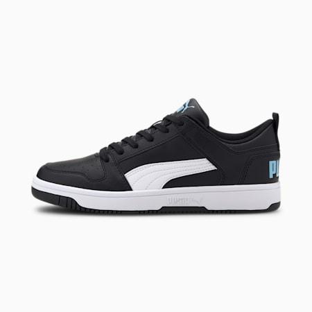 PUMA Rebound LayUp Lo Men's Sneakers, Puma Black-White-Palace Blue, small