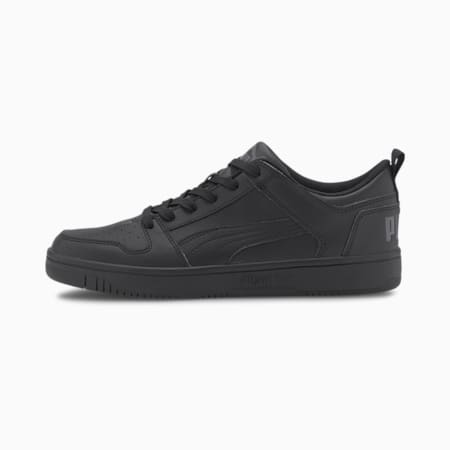 PUMA Rebound Lay Up SoftFoam+ Unisex Sneakers, Puma Black-Black-Dark Shadow, small-IND
