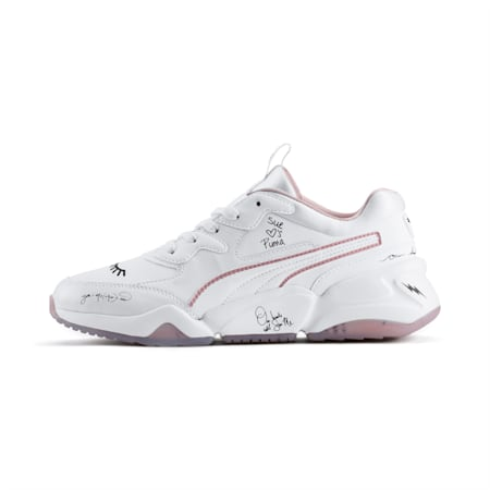 PUMA x SUE TSAI Nova Women's Shoes, Bright White-Bright White, small-IND