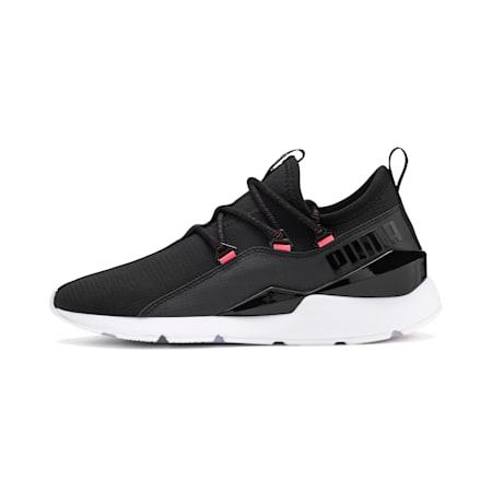 Muse 2 Hypertech Women's Sneakers, Puma Black-Sulphur, small