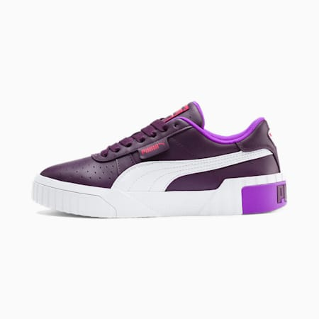 Cali Chase Women's Sneakers, Plum Purple-Nrgy Rose, small