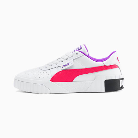 Cali Chase Women's Sneakers, Puma White-Nrgy Rose, small
