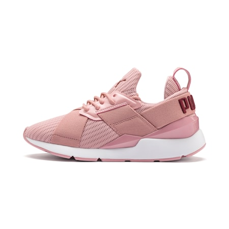 Muse Core+ Women's Sneakers, Bridal Rose-Fired Brick, small