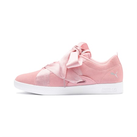 PUMA Smash Astral Buckle Women's Sneakers, Bridal Rose-Silver-White, small