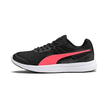 Escaper Pro Training Shoes, Black-Calypso Coral-White, small-IND