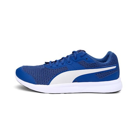 Escaper Unisex Training Shoes, Galaxy Blue-Silver-Red-White, small-IND