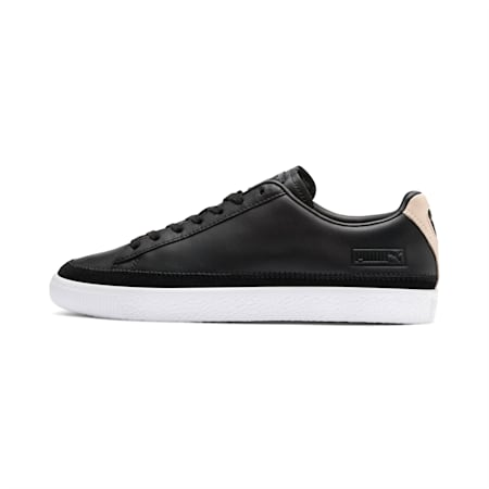 Basket Trim Block Trainers, P Blk-Puma Team Gold-P Wht, small