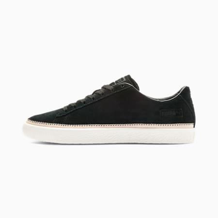 Suede Trim PRM Sneakers, Puma Black-Whisper White, small