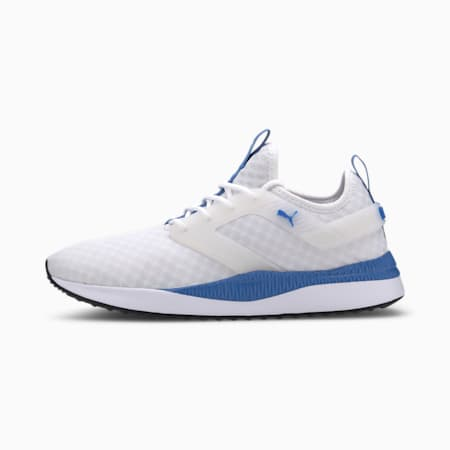 Pacer Next Excel Core Men's Sneakers, Puma White-Palace Blue, small