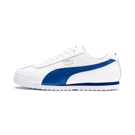 Roma '68 Vintage Sneakers, Puma White-Galaxy Blue, small
