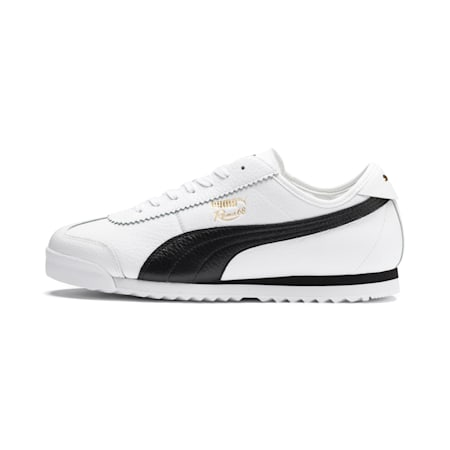 Roma '68 Vintage Sneakers, Puma White-Puma Black, small