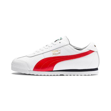 Espadrilles classiques Roma '68, Blanc Puma-rouge risque élevé, petit