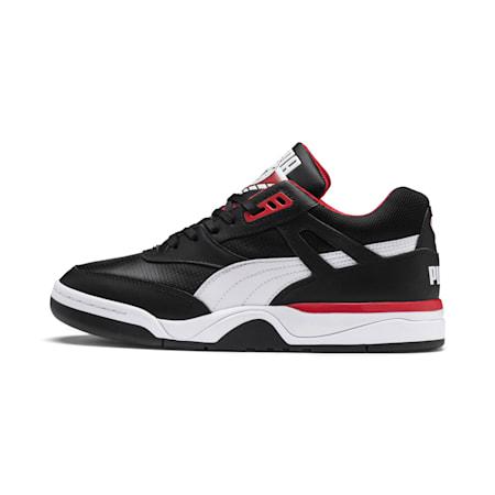 Ténis de básquete Palace Guard para homem, Puma Black-Puma White-red, small