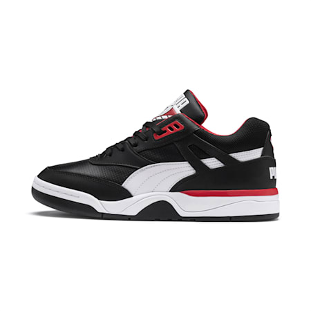Palace Guard  Basketball Shoes, Puma Black-Puma White-red, small-IND