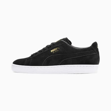 Suede Classic Metal Badge Sneakers, Puma Black-Puma White, small