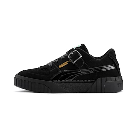 PUMA x TYAKASHA Cali Women's Trainers, Puma Black, small-SEA