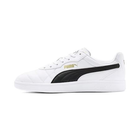 Astro Kick SL Men's Sneakers, Puma White-Gold-Gray Violet, small