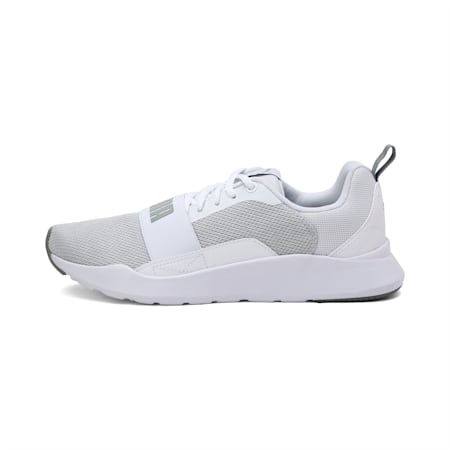 Wired Mesh 2.0 Shoes, Puma White-Limestone, small-IND