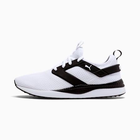 Pacer Next Excel Mesh Men's Training Shoes, Puma White-Puma Black, small