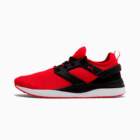 Pacer Next Excel Mesh Men's Training Shoes, High Risk Red-Puma Black, small