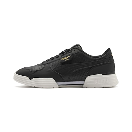 CGR Perforated Trainers, Puma Blk-PumaWht-Marshmallow, small