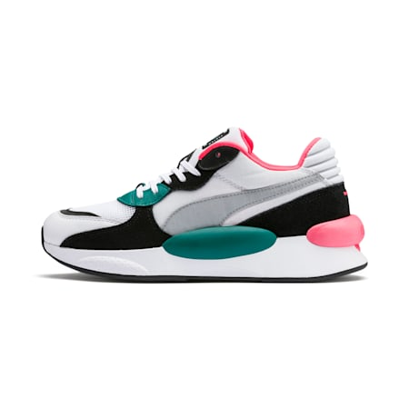 RS 9.8 Space Men's Sneakers, Puma White-Teal Green, small