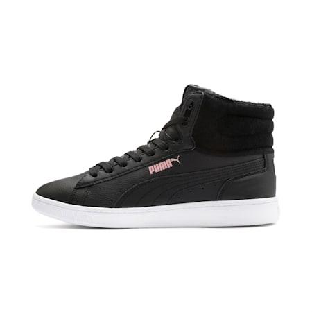 Vikky v2 mittelhoher Damen Winter Sneaker, Puma Black-Bridal Rose-White, small