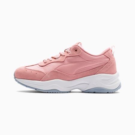 Damskie buty treningowe Cilia Suede, Bridal Rose-Slvr-Wht-Heather, small