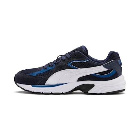 Axis Plus IMEVA SoftFoam+ Suede Sneakers, Peacoat-G Blue-White-Black, small-IND