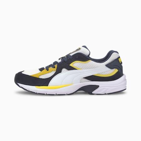 Axis Plus IMEVA SoftFoam+ Suede Sneakers, Peacoat-PumaWhite-Meadowlark, small-IND