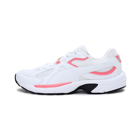 Axis Plus 90s SoftFoam+ Sneakers, White-Bubblegum-Silver-Black, small-IND